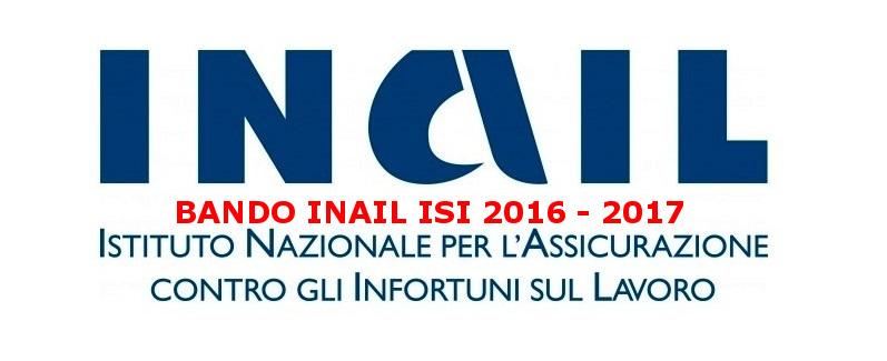 Bando INAIL ISI 2016 - 2017